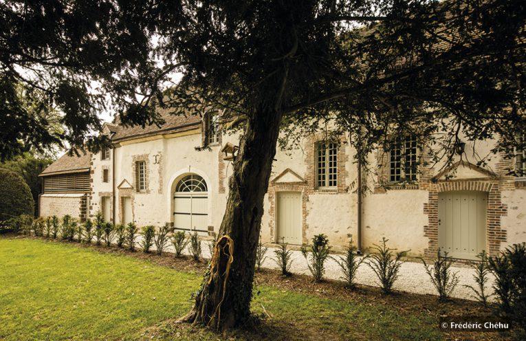 Façade du musée de l'Ancien collège militaire et royal à Thiron-Gardais ©Frédéric Chéhu